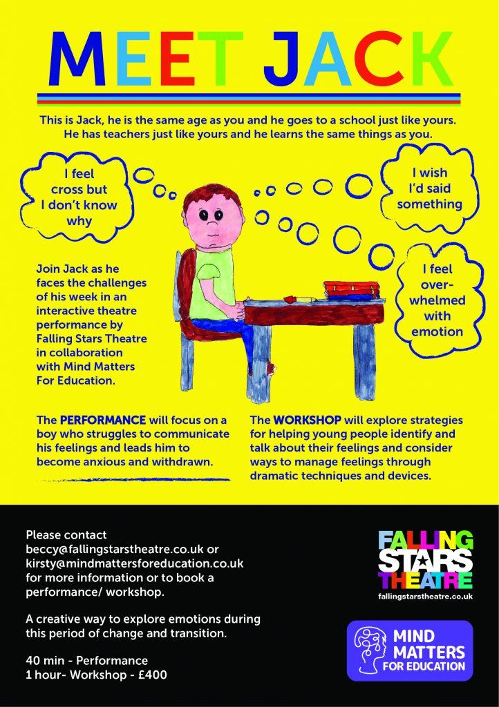 Meet Jack - Mental Health Education Workshop Yorkshire